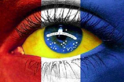 Descobertas sobre Brasil e França em inglês