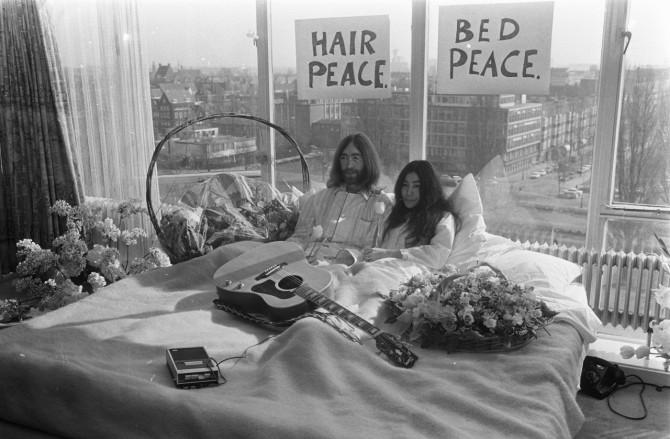 A balada de John Lennon e Yoko Ono