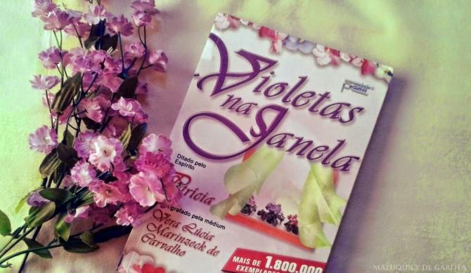 Livro: Violetas na janela