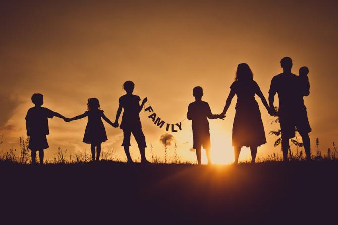 Família: primeira pessoa do plural