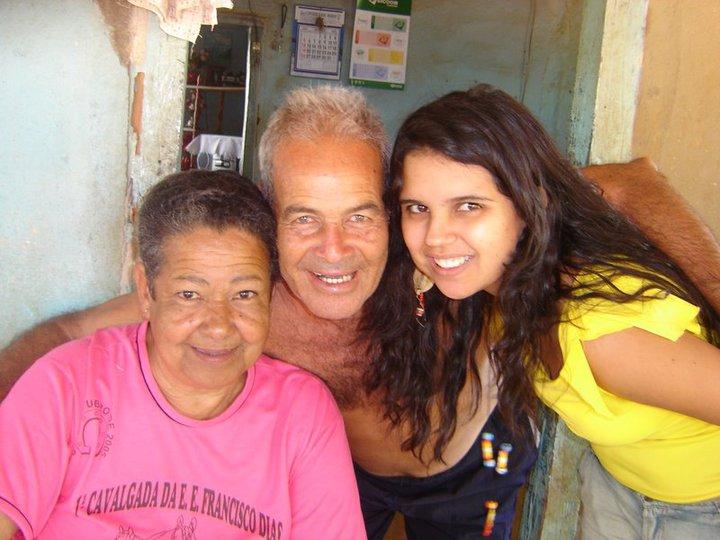 Vó Maria e Vô Toninho