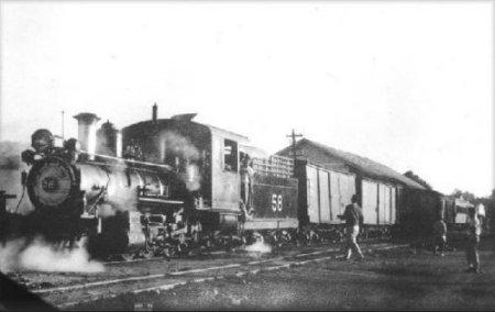 estação de trem em Martinho Campos