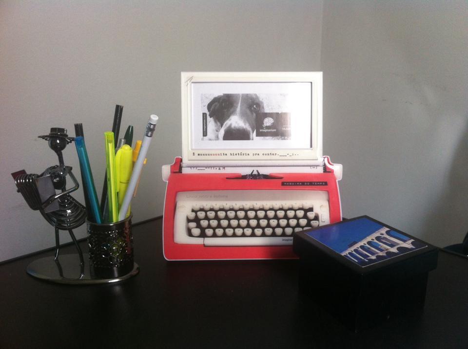 objetos de escritório